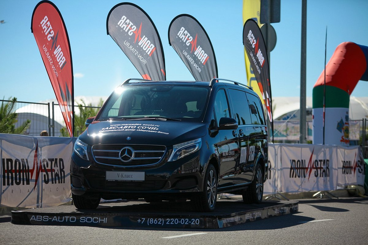 Mercedes-Benz has become an official automotive partner of the IRONSTAR
